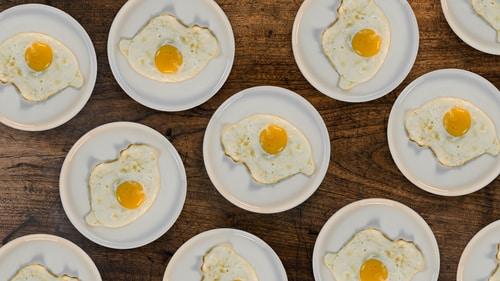 яйца на кето