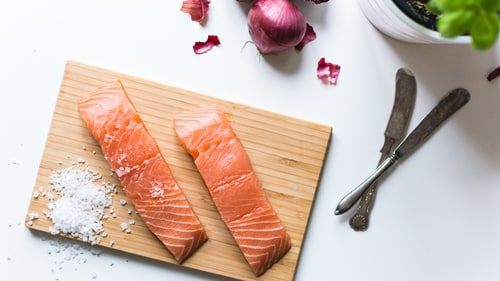 Солим рыбу для кето блюд