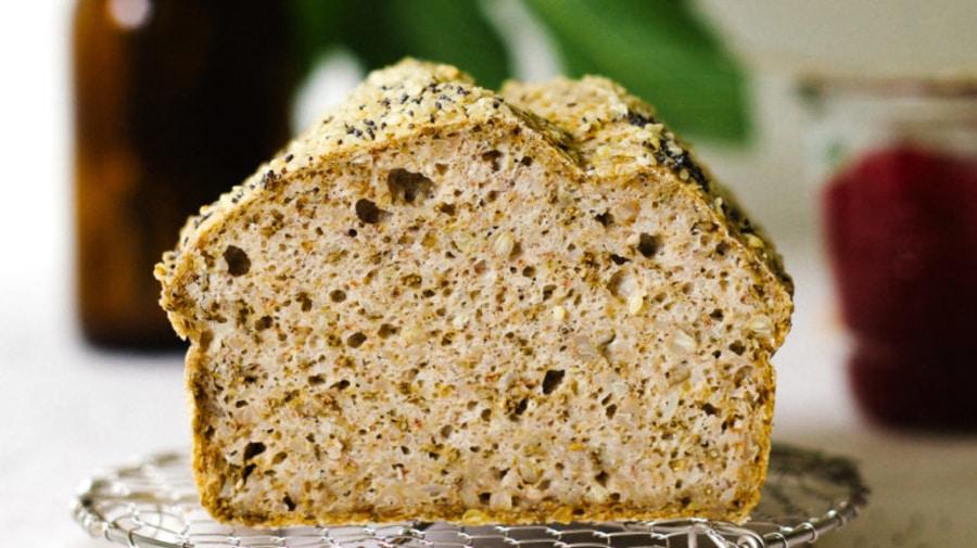 Ферментированный низкоуглеводный хлеб