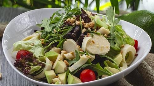 вкусный и быстрый кето салат