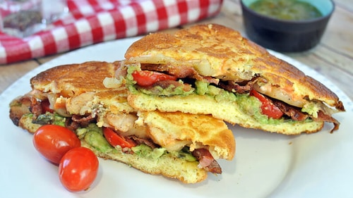хлеб для кето бутерброда