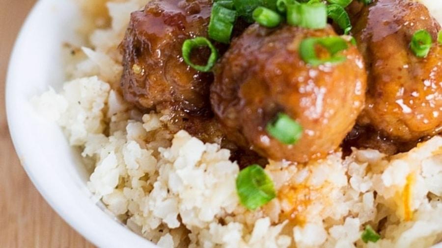 вкусный кето рис из капусты